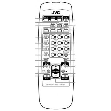 Пульт JVC RM-SMXJ75R, CA-MXJ75R (аналог)