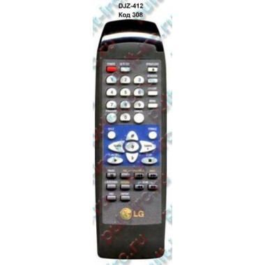 Пульт LG DJZ-412 (аналог)