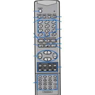 Пульт SAMSUNG AA59-10079T (аналог)