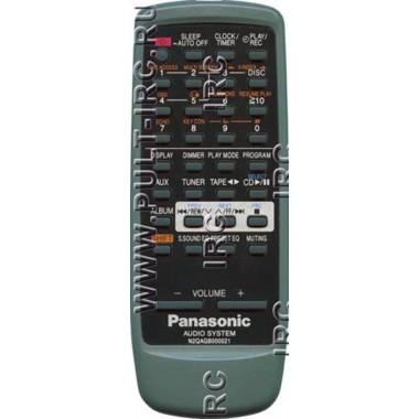 Пульт PANASONIC N2QAGB000021 (аналог)