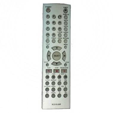 Пульт BBK RC019-24R DVD ic (АНАЛОГ в другом корпусе)