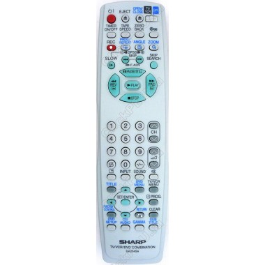 Пульт SHARP GA204SA TV-VCR-DVD (аналог)