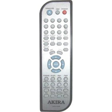 Пульт AKIRA DVD-4118HR (АНАЛОГ в другом корпусе)