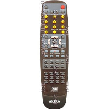 Пульт AKIRA 2003-10 (аналог)