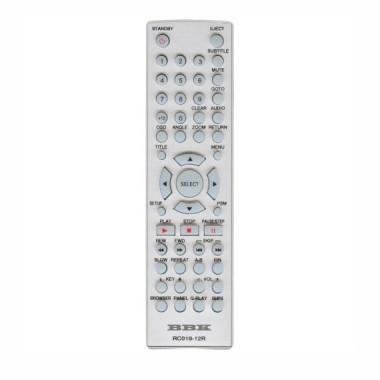 Пульт BBK RC019-12R DVD ic (АНАЛОГ в другом корпусе)