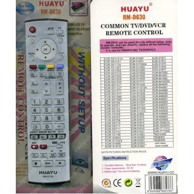 Пульт Huayu Panasonic RM-D630 корпус EUR7635050 универсальный пульт