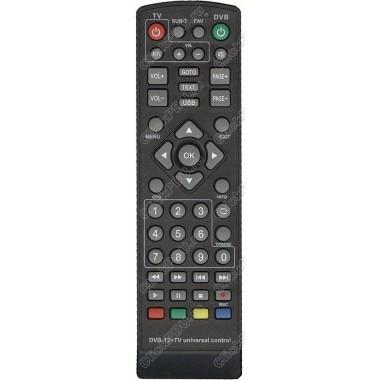 Пульт Huayu для приставок DVB-T2+TV ver.2017 г как LUMAX B0302