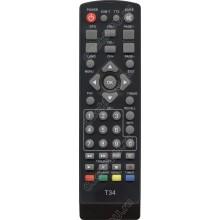 Пульт Word Vision WV T56, T36, TESLER DSR-590Iv T59/ T59D/ T126/ DVB-T2 SELENGA T50 ic