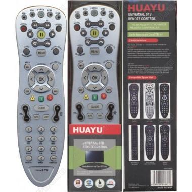 Пульт Huayu для Motorola ,Cisco MXV3ТВ (серый) универсальный для ТВ