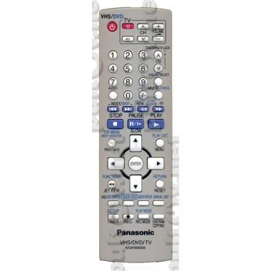 Пульт Panasonic N2QAYB000006 ic  VHS/DVD