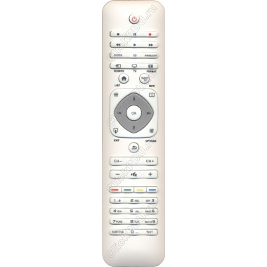 Пульт Philips YKF314-001W ( 2422 549 90507) ic 3D LCD TV белого цвета