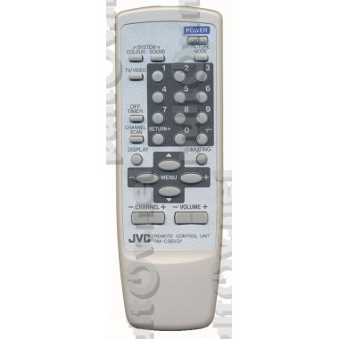 Пульт JVC RM-C360 белый ic
