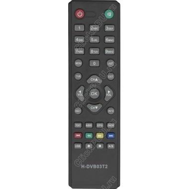Пульт Hyundai H-DVB03T2 ic DVB-T2  (D-Color. rolsen)