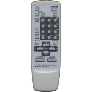 Пульт JVC RM-C364GY ic белый