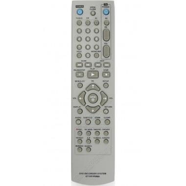 Пульт LG 6711R1P098A  ic пишущий DVD+ karaoke