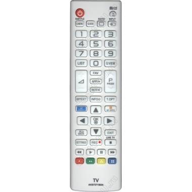 Пульт LG AKB73715634 ic LCD smart TV NEW белый ( маленький корпус)