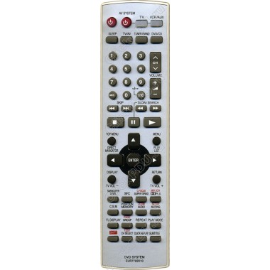 Пульт Panasonic EUR7722X10 ic  как оригинал от домашнего театра