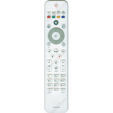 Пульт Philips 2422 549 02315 белый ic TELEVISION LCD TV