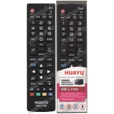 Пульт Huayu LG RM-L1162W БЕЛЫЙ ! корпус AKB73715603 с функцией SMART