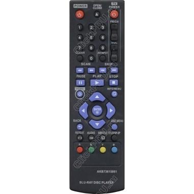 Пульт LG AKB73615801 ic BD PLAYER