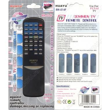 Пульт Huayu Funai  RM-014F корпус MK7 txt  универсальный пульт