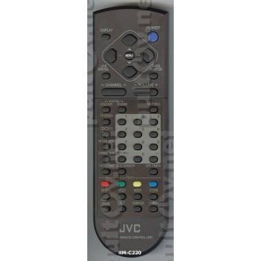 Пульт JVC RM-C220  (ic)      AV-2553 EE