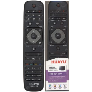 Пульт Huayu Philips RM-D1110 корпус RC-2422 549 90467 (YKF309-001)