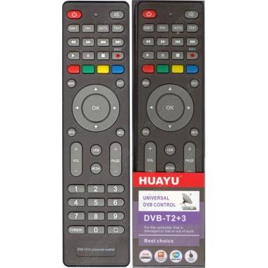 Пульт Huayu для приставок DVB-T2+3 ! корпус пульта как МТС DN300