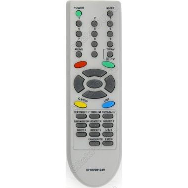 Пульт LG 6710V00124V (=0124d) ориг  TV