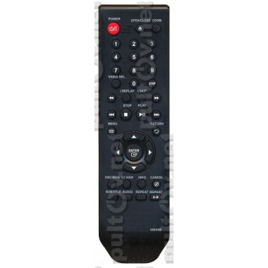 Пульт Samsung 00054B DVD  как оригинал ic