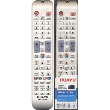 Пульт Huayu Samsung RM-D1078W белый  универсальный пульт корпус AA59-00560A