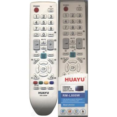 Пульт Huayu Samsung RM-L800W белый  корпус BN59-00943A универсальный пульт