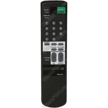 Пульт Sony RM-677C ic